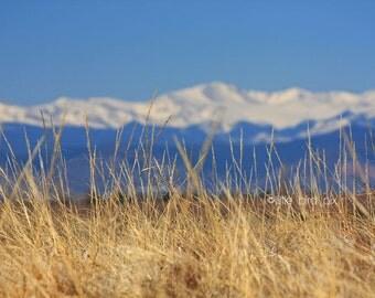 8 x 10 Fine Art Landscape Print - Mt. Evans - Rocky Mountains - Colorado