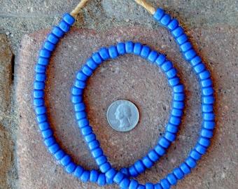 Czech Beads: Blue  (5x8mm)