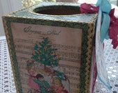 O' Tannenbaum Festive Boutique Tissue Box