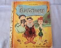 The Flintstones -  Rare Little Golden Book 1960's