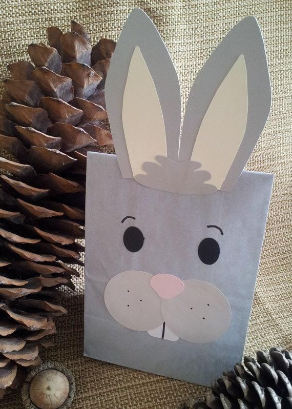 Bunny Rabbit Treat Sacks Woodland Forest Farm Barnyard