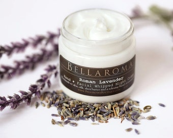 Roman Lavender Hand + Facial WHIPPED NIGHT CREME