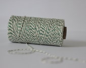 Green Shimmer Glitter Bakers Twine - 10 metres - Pefect for gift wrapping or Crafts