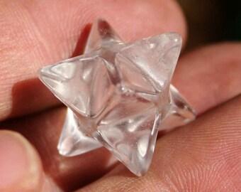 Quartz Merkaba Crystal Specimen