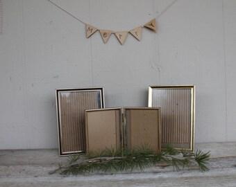 Instant Collection Vintage Gold Metal Frames
