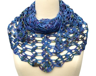 Crochet pattern : building blocks up to the sky shawl