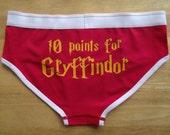 10 Point for Gryffindor womens ladies Underpants Underwear