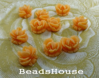 311-00-CA  10pcs Mini Rose Cabochons - York
