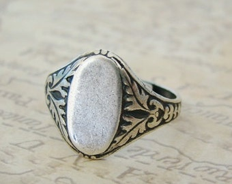 Antiqued Silver Ring Wedding Bridesmaids Mother Sister Daughters Wife Friend Anniversary Birthday  - Roxanna
