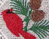 Cardinal Ornament or Cardinal Bookmark