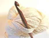 "Nam Oc Crochet Hook, size J (6.00 mm) --- one 6"" hook, sustainably made"