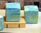 SALE SO-CAL Handmade Cold Process Soap with Jojoba, Hemp, Argan, Wheatgerm,  Silk, Shea, Cocoa and Mango Butters