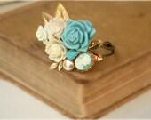 Wedding Bracelet Vintage Wedding Bracelet Wedding Cuff Bracelet, Maid Of Honor, Bridesmaids Gifts Something Old Something Blue