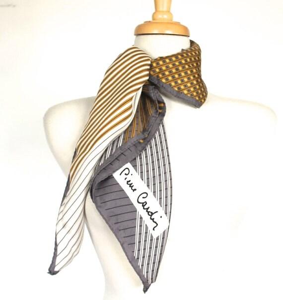 vintage cardin scarf 1970s cardin by
