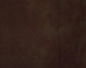 265 - Deep brown hand dyed fabric