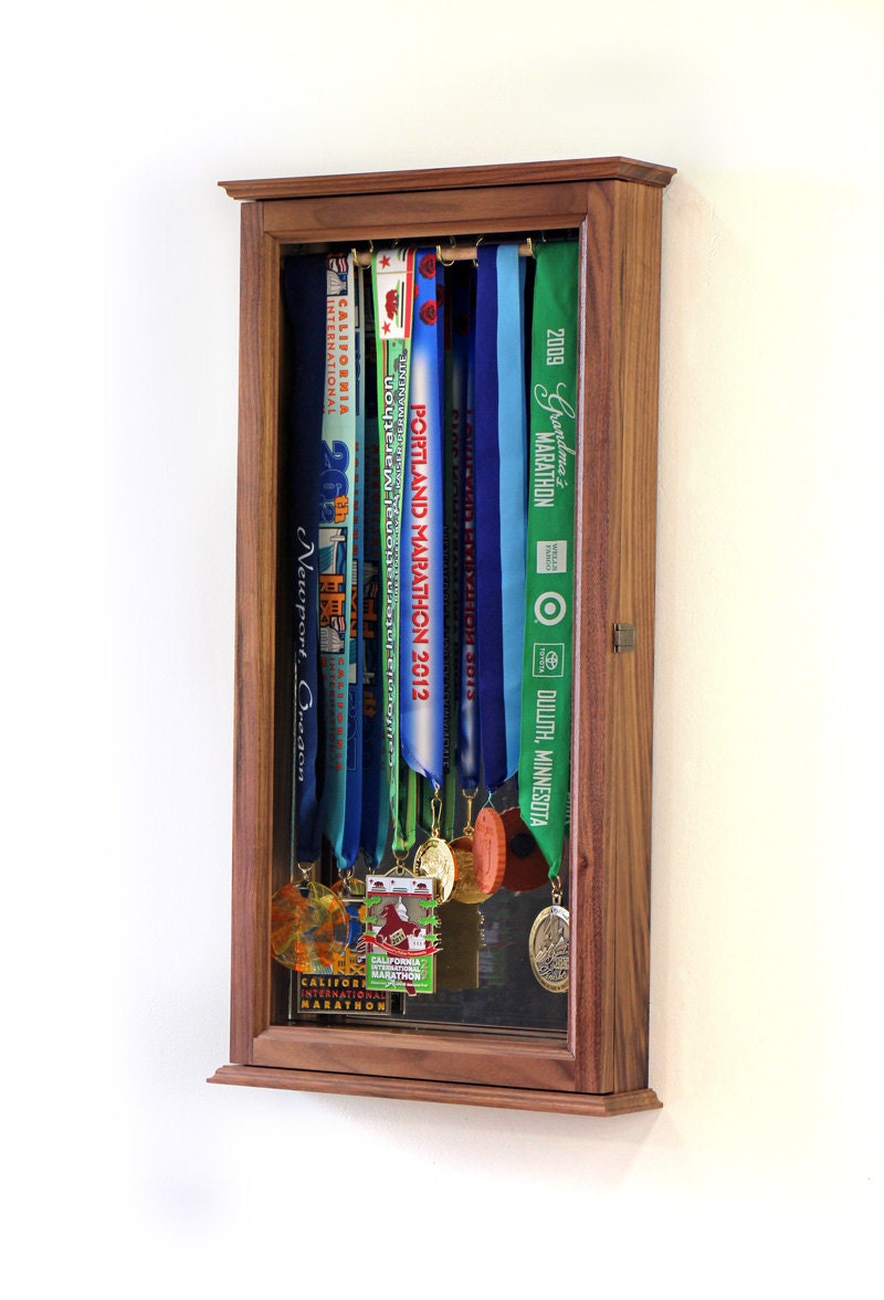 Marathon Sports Medal Display Case Wall Cabinet from fwdisplay on ...