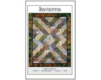 Quilt Pattern Saginaw Street Quilt Company Savanna Half Squares Triangles
