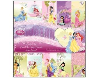 EK Paper Pad Disney Special Princess Princesses Cinderella Ariel Snow White Jasmine Belle