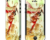 Iphone 5, 5S, 5C and 4 skin - Steampunk girl