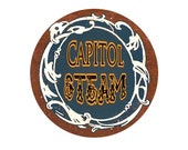 Capitol Steam Medal