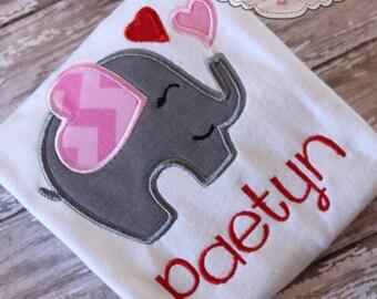 Valentine's Day ElephantShirt/Onesie