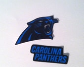 Carolina Panthers iron on applique set