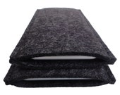 iPhone 6 Cover Wool Felt to fit iPhone 6, iPhone 6 Plus Grey or Charcoal Landscape or Portrait Design