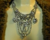 Dramatic Vintage Necklace make a Statement