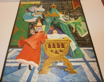 Walt Disney's Sleeping Beauty Frame-Tray Inlay Picture Puzzle 1958