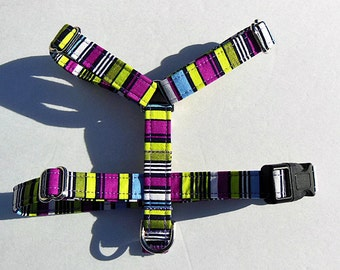 Multi - Color Adjustable  Classic  Dog Harness for Small Dog.