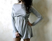 Tunic dress, Mini dress, Yoga clothes, Long sleeve top, Winter dress, Sweater Dress, Maternity clothes, Jersey top, Plus size top, Petite