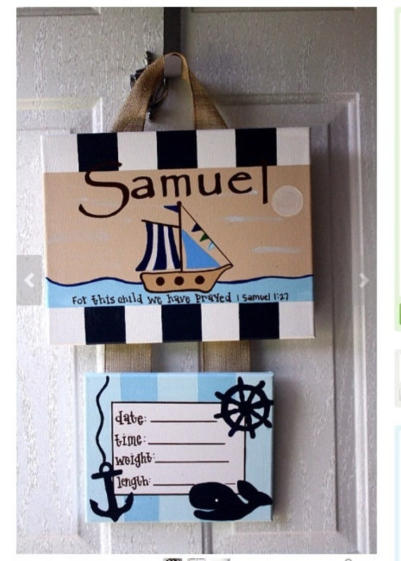 Hospital door hanger hospital door decorations by for Baby hospital door decoration