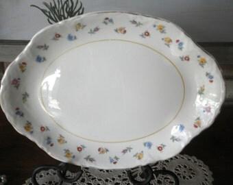 Vintage Shabby Chic  Serving Platter/Dresser Tray