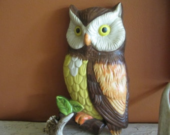 Vintage Lefton China Owl