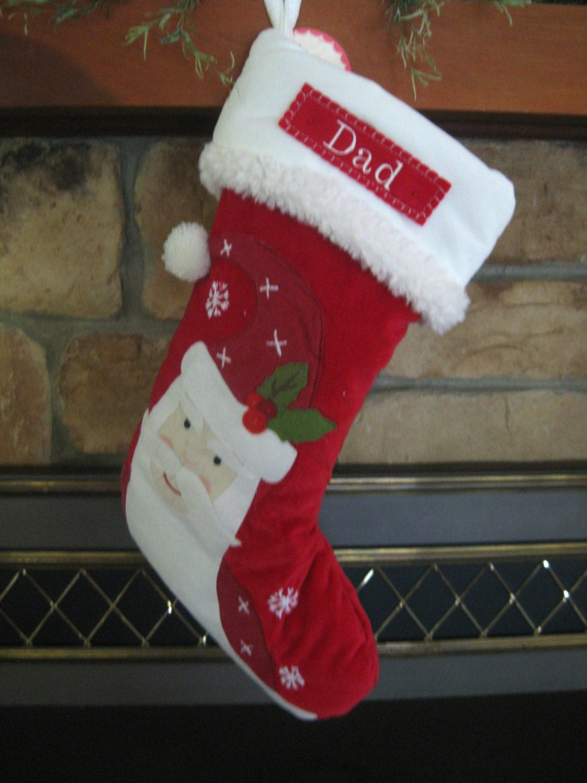 christmas stocking pottery barn luxe velvet stocking santa. Black Bedroom Furniture Sets. Home Design Ideas