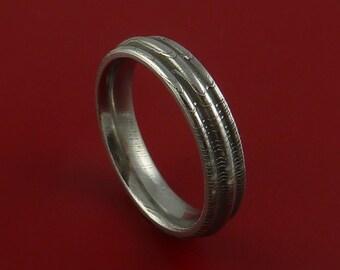 Damascus Steel Ring Wedding Band Genuine Any Size