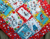 Dr Seuss Baby Quilt The Cat in the Hat