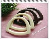 1pair Candy color purse bag handles (2color available)