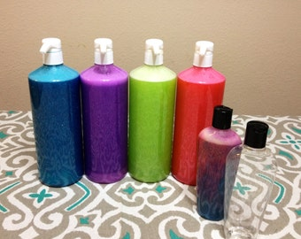 Create your own Scented Spa Bubbles for Birthday Party