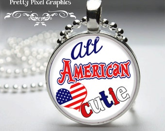 INSTANT DOWNLOAD-4th of July-USA proud-bottlecap-jewelry-hairbow
