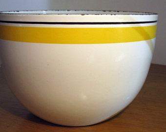Kaj Franck Finel Black & Yellow Stripe Bowl