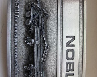1981 NOBLE Farm Plow Belt Buckle