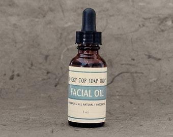 Facial Oil - Unscented Facial Moisturizer