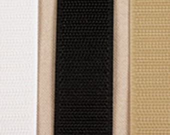 Black Velcro Hook and Loop Tape 3/4 inch wide Sew On