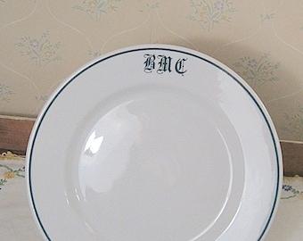The Bailey Walker Vitrified China Restaurant Ware Dinner Plate