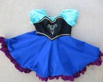 Anna Dress - Size 4T - Everyday Princess Dress - Ready to Ship Ana Costume