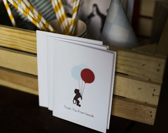 Monkey Thank you Cards