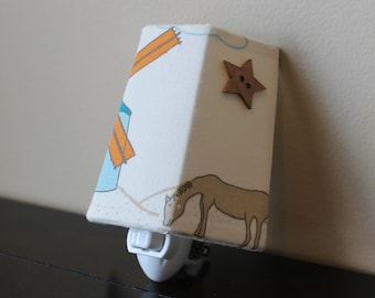Storyboek 2, Shoreline, Children's Organic Fabric Night Light - Only One Available