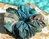 Tie Dye Spandex Scrunchie