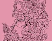 Suicide Sin  - Pink Heather Tank Top
